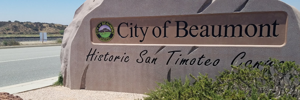 beaumont city sign